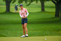 Azahara Munoz (ESP) watches her putt on 1 during round 4 of the KPMG Women's PGA Championship, Hazeltine National, Chaska, Minnesota, USA. 6/23/2019.<br /> Picture: Golffile | Ken Murray<br /> <br /> <br /> All photo usage must carry mandatory copyright credit (© Golffile | Ken Murray)