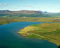 Hagi séð til norðurs, Apavatn, Grímsnes- og Grafningshreppur /  Hagi viewing north from the banks of lake Apavatn, Grimsnes- og Grafningshreppur.