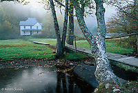 Hiram Caldwell Place, Cataloochee Valley, Great Smoky Mountains National Park, North Carolina.