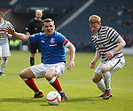 Lee McCulloch and Peter Bradley