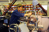 An engineering factory making industrial agricultural products in Wuxi, China. The products improve the performance of the plants in terms of productivity and competitiveness..28 Oct 2009