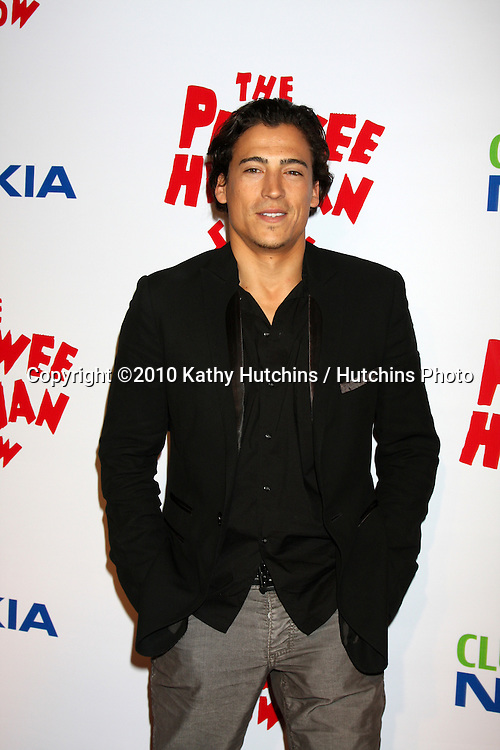 """Andrew Keegan.arriving at the """"The Pee Wee Herman Show"""" Opening Night..Club Nokia.Los Angeles, CA.January 20, 2010.©2010 Kathy Hutchins / Hutchins Photo...."""