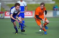 Midlands v Auckland men. 2019 National Hockey Under-18 Tournament at National Hockey Stadium in Wellington, New Zealand on Tuesday, 9 July 2019. Photo: Dave Lintott / lintottphoto.co.nz