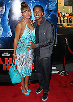 """LOS ANGELES, CA, USA - APRIL 16: Tamara Mitchell, Wesley Jonathan at the Los Angeles Premiere Of Open Road Films' """"A Haunted House 2"""" held at Regal Cinemas L.A. Live on April 16, 2014 in Los Angeles, California, United States. (Photo by Xavier Collin/Celebrity Monitor)"""
