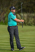 Brian Stuard (USA) watches his tee shot on 7 during day 2 of the Valero Texas Open, at the TPC San Antonio Oaks Course, San Antonio, Texas, USA. 4/5/2019.<br /> Picture: Golffile | Ken Murray<br /> <br /> <br /> All photo usage must carry mandatory copyright credit (© Golffile | Ken Murray)