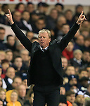 Newcastle's Steve McClaren in action<br /> <br /> Barclays Premier League- Tottenham Hotspur vs Newcastle United - White Hart Lane - England - 13th December 2015 - Picture David Klein/Sportimage