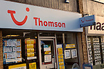 Thomson travel agents. High street shops and shopping,  January 2009, Lowestoft, Suffolk, England