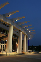 John Paul Jones arena at the University of Virginia in Charlottesville, VA. 8-17-06. Photo/Andrew Shurtleff JPJ