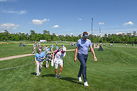 Ian Poulter (GBR) approaches the 3rd tee during round 1 of the Houston Open, Golf Club of Houston, Houston, Texas. 3/29/2018.<br /> Picture: Golffile | Ken Murray<br /> <br /> <br /> All photo usage must carry mandatory copyright credit (© Golffile | Ken Murray)