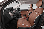 Front seat view of a 2015 Fiat 500X Lounge 5 Door SUV front seat car photos