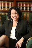 Washington, DC - (FILE) -- Judge Sonia Sotomayor in 2009 in a photo released by the White House on Tuesday, May 26, 2009.Credit: White House via CNP