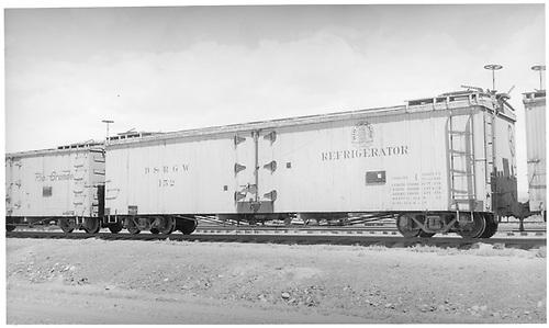 Long reefer #152.<br /> D&amp;RGW    ca 1939