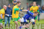 Kerins O'Rahilly's Kevin Walshe and Gneevguilla's John Paul Brosnan..