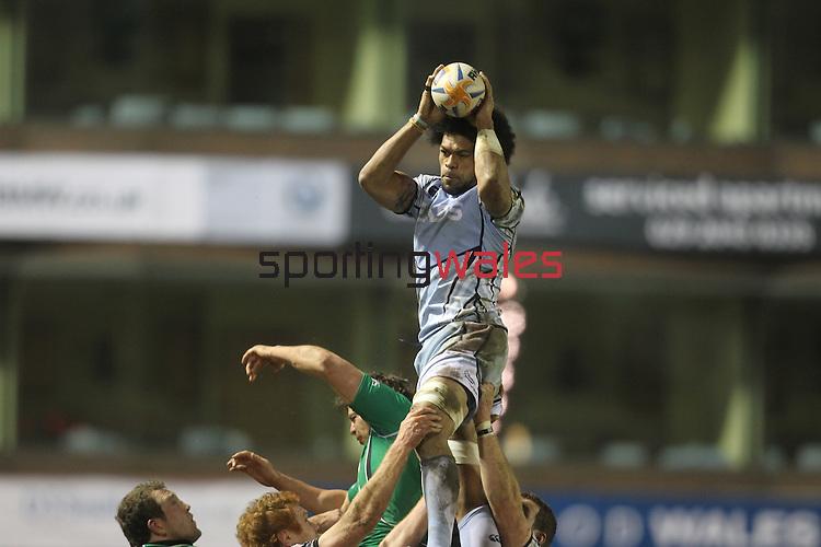 Maama Molitika.RaboDirect Pro12.Cardiff Blues v Connacht.Cardiff Arms Park..10.02.12.©Steve Pope