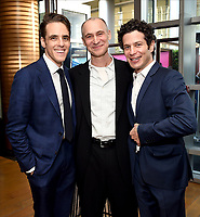 LOS ANGELES - SEPTEMBER 21: (L-R) Steven Levenson, Joel Fields, and Thomas Kail attend the FX Networks & Vanity Fair Pre-Emmy Party at Craft LA on September 21, 2019 in Los Angeles, California. (Photo by Frank Micelotta/FX/PictureGroup)