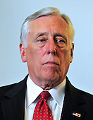 United States House Majority Leader Steny Hoyer (Democrat of Maryland) attends the meeting where U.S. House Democrats selected their leadership for the 112th Congress in Washington, D.C. on Wednesday, November 17, 2010.  Hoyer will serve as the Democratic Whip, the number 2 position behind House Democratic Leader Nancy Pelosi in the new Congress..Credit: Ron Sachs / CNP