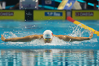 Wang Shun of China placed forth in the Men's 200m Individual Medley competition at the FINA Champions Swim Series at the Danube Arena in Budapest, Hungary on May 11, 2019. ATTILA VOLGYI