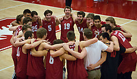 STANFORD, CA - March 10, 2018: Team at Burnham Pavilion. The Stanford Cardinal lost to UC Irvine, 3-0.