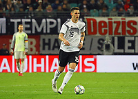 Niklas Süle (Deutschland Germany) - 15.11.2018: Deutschland vs. Russland, Red Bull Arena Leipzig, Freundschaftsspiel DISCLAIMER: DFB regulations prohibit any use of photographs as image sequences and/or quasi-video.