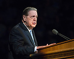 1608-44 263<br /> <br /> Education Week<br /> Elder Holland Devotional<br /> <br /> August 16, 2016<br /> <br /> Photography by: Mark A. Philbrick/BYU Photo<br /> <br /> Copyright BYU Photo 2016<br /> All Rights Reserved<br /> photo@byu.edu (801)422-7322<br /> <br /> 598