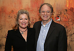 Kate Mulgrew and Douglas Aibel attends The Vineyard Theatre's Emerging Artists Luncheon at The National Arts Club on November 9, 2017 in New York City.