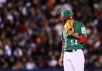 Acciones, durante el partido Mexico vs Venezuela, World Baseball Classic en estadio Charros de Jalisco en Guadalajara, Mexico. Marzo 12, 2017. (Photo: AP/Luis Gutierrez)