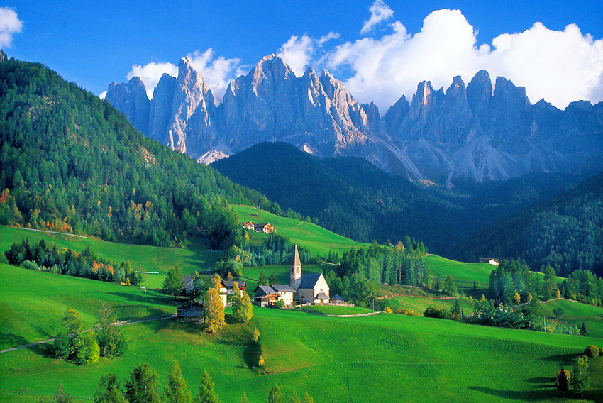 St. Magdalena, Dolomites, Northern Italy