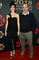 6 January 2018 - Los Angeles, California - Maggie Siff and Paul Giamatti. Showtime Golden Globe Nominee Celebration held at the Sunset Tower Hotel in Los Angeles. Photo Credit: AdMedia