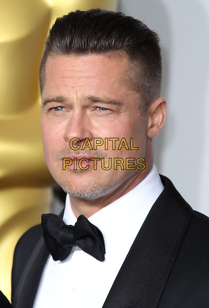 02 March 2014 - Hollywood, California - Brad Pitt. 86th Annual Academy Awards held at the Dolby Theatre at Hollywood &amp; Highland Center. <br /> CAP/ADM/RE<br /> &copy;Russ Elliot/AdMedia/Capital Pictures