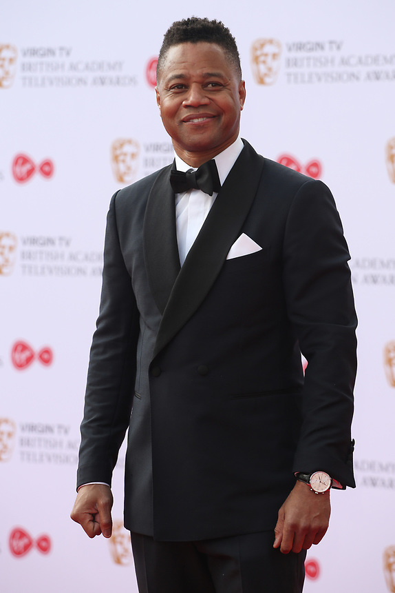 Cuba Gooding Junior<br />  arriving at the Bafta Tv awards 2017. Royal Festival Hall,London  <br /> ©Ash Knotek