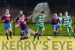 8 Celtic skips past the Mervue defence during their FAI cup tie in Celtic Park on Saturday night