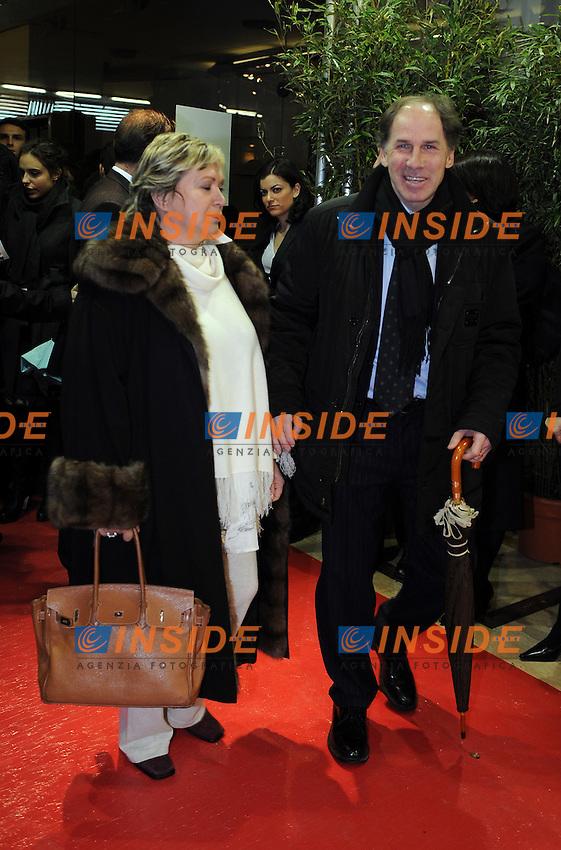Franco BARESI<br /> Milano, 13/03/2011 Teatro Manzoni<br /> 25&deg; anniversario di presidenza Berlusconi al Milan<br /> Campionato Italiano Serie A 2010/2011<br /> Foto Nicolo' Zangirolami Insidefoto