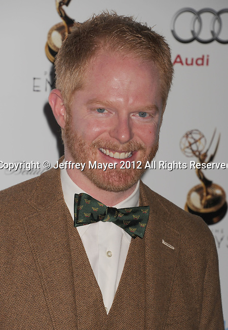 WEST HOLLYWOOD, CA - SEPTEMBER 21: Jesse Tyler Ferguson attends the 64th Primetime Emmy Awards Performers Nominee reception held at Spectra by Wolfgang Puck at the Pacific Design Center on September 21, 2012 in West Hollywood, California.