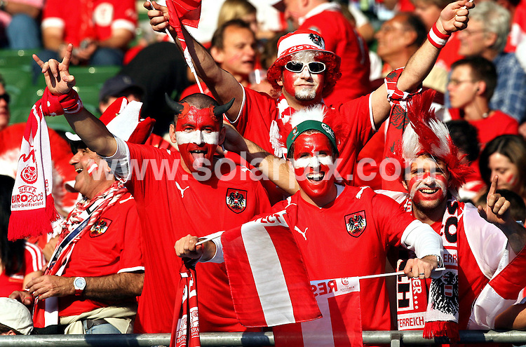 **ALL ROUND PICTURES FROM SOLARPIX.COM**.**SYNDICATION RIGHTS FOR UK AND SPAIN ONLY**.Football Euro European Championship 2008 Austria vs Switzerland in Preliminary Group B, Match 12, Austria vs Poland, 12 June 2008, Ernst-Happel Stadium in Vienna  Austria..JOB REF:6626-CPR/Ronny Hartmann DATE:12_06_08.**MUST CREDIT SOLARPIX.COM OR DOUBLE FEE WILL BE CHARGED* *UNDER NO CIRCUMSTANCES IS THIS IMAGE TO BE REPRODUCED FOR ANY ONLINE EDITION WITHOUT PRIOR PERMISSION*
