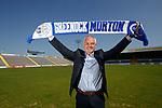 30.05.2018 Ray McKinnon new Morton manager