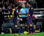 Campeonato de Liga. F.C.Barcelona - Athletic Club de Bilbao. Arbitro: Antonio M. Mateu Lahoz.