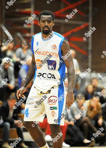 2013-10-01 / Basketbal / seizoen 2013-2014 / Kangoeroes Willebroek / Toarlyn Fitzpatrick<br /><br />Foto: Mpics.be