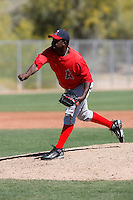 Sammy Leon - Los Angeles Angels - 2009 spring training.Photo by:  Bill Mitchell/Four Seam Images