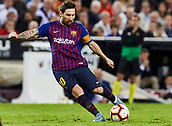 2018 La Liga Football Valencia v Barcelona Oct 7th
