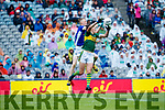 David Clifford Kerry in action against Evaan Fortune Cavan in the All Ireland Minor Semi Final in Croke Park on Sunday.