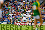 Tommy Walsh Kerry in action against Fionn Dowling, Kildare in the All Ireland Quarter Final at Croke Park on Sunday.