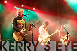 Sawdoctors on stage in Denny Street on Tuesday evening.