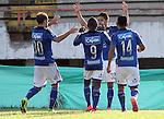 Atlético Huila rescató un punto en casa, este miércoles por la tarde en el estadio Guillermo Plazas Alcid de Neiva, al empatar ante Millonarios 2-2 en partido de la fecha 14 del Torneo Apertura Colombiano 2015.