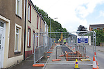 Welsh Water mains pipe replacement in Briton Ferry.11.07.12.©Steve Pope.