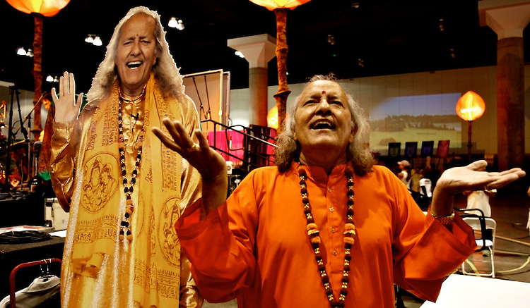 Global Mala Project (GMP) event.  Laughing Yogi.