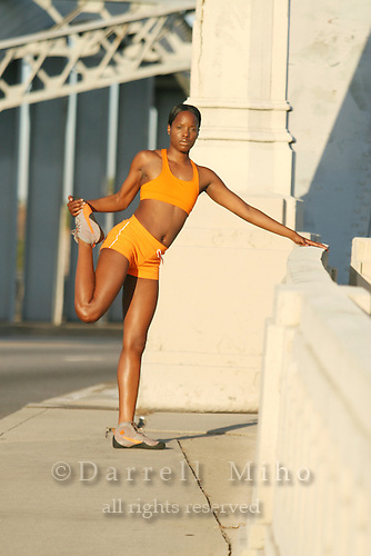 Model: LaKreshia Hart<br />