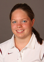 STANFORD, CA - SEPTEMBER 10:  Rebecca Hinds of the Stanford Cardinal during women's swimming picture day on September 10, 2009 in Stanford, California.
