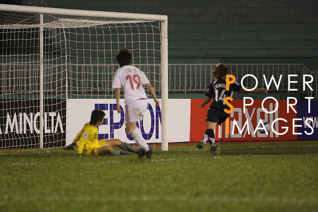 Group Stage A Thailand VS China PR  during the 2008 AFC Women's Asian Cup, 30 May 2008, in Thong Nhat Stadium, Ho Choi Minh City, Vietnam. Photo by World Sport Group