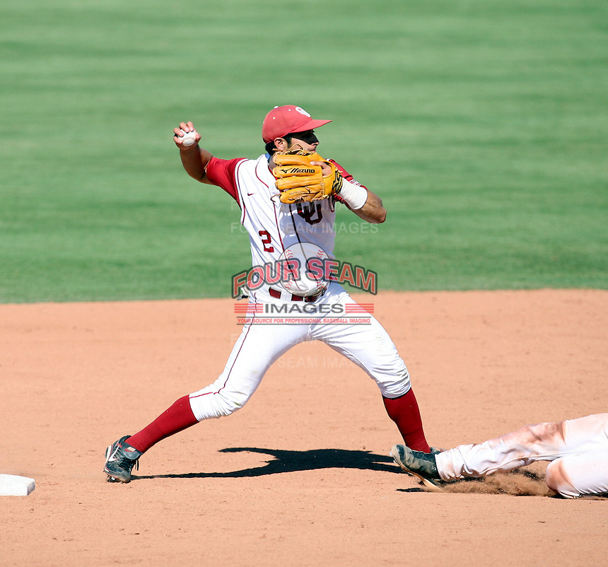 Bryant Hernandez - 2008 Oklahoma Sooners.Photo by:  Bill Mitchell/Four Seam Images