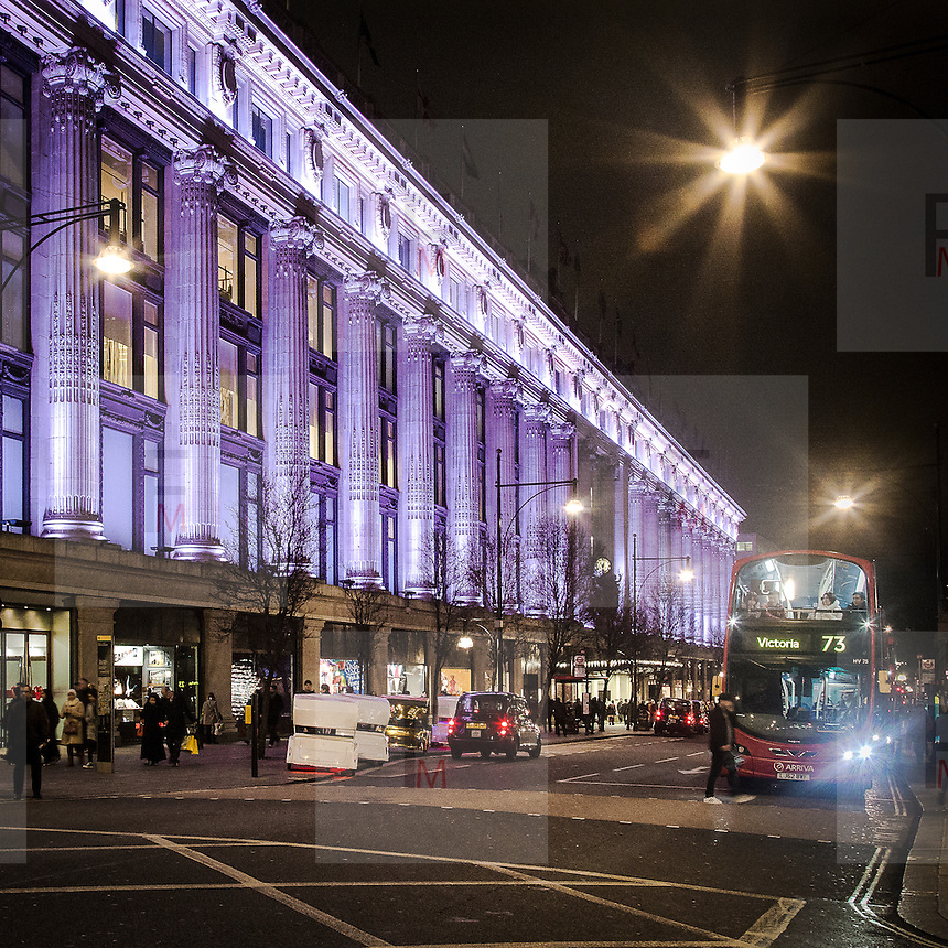 Selfridges in Oxford street